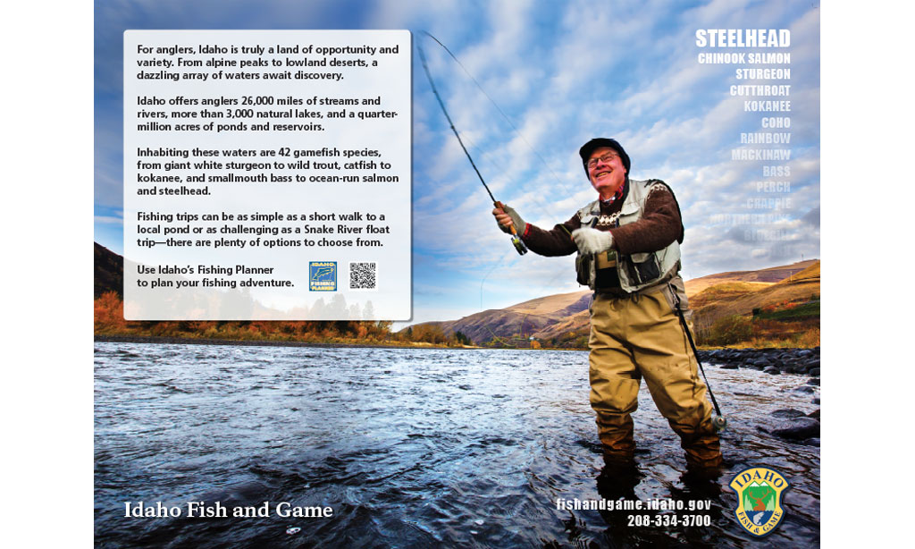 Interpretive writing parksmith for Fish and game idaho